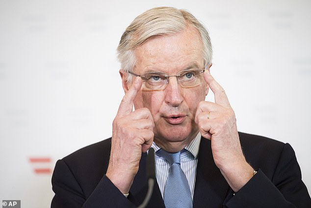 The EU's chief negotiator, Michel Barnier, said he does not believe Britain will be able to leave the EU on 29 March and that an extension of Article 50 is needed