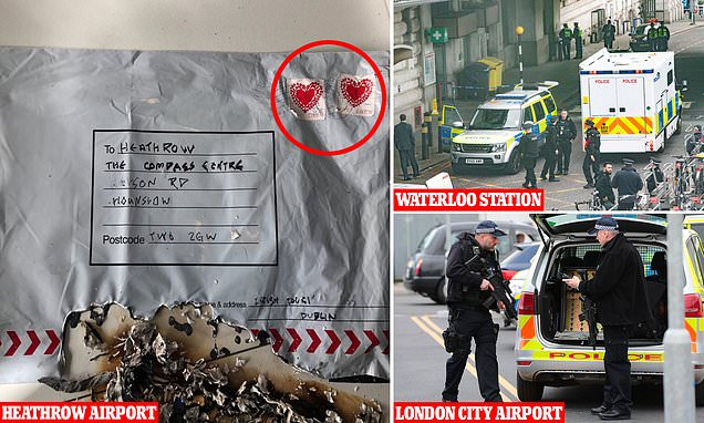 London IEDs Explosives Found At Heathrow City
