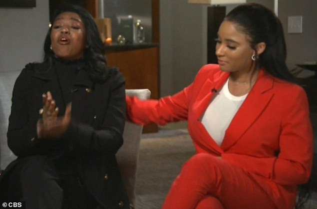 In a separate interview, two women who live with Kelly - Azriel Clary and Jocelyn Savage (above) - have rejected allegations that they are being controlled by the musician