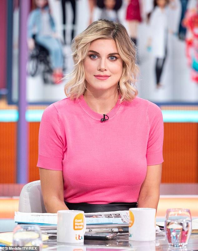 Darned if you do, darned if you don't:Others were quick to turn on Ashley James instead - who was on the show sticking up for Barbie, arguing that the brand try to develop the products to reflect diversity