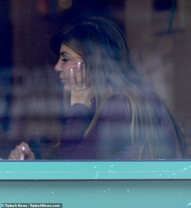 Teresa Giudice Looks Emotional As She Sips Wine After