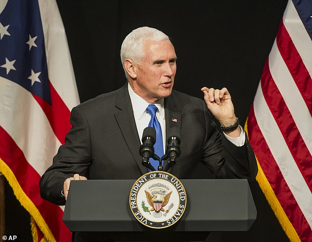 Vice President Mike Pence remained unphased by warnings that the increase of oil production will cause irrevocable damage to the environment, during his appearance atOhio Oil and Gas Association meeting on Friday