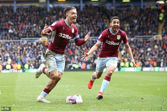 The midfielder went on to score the opening goal for Aston Villa in the second half