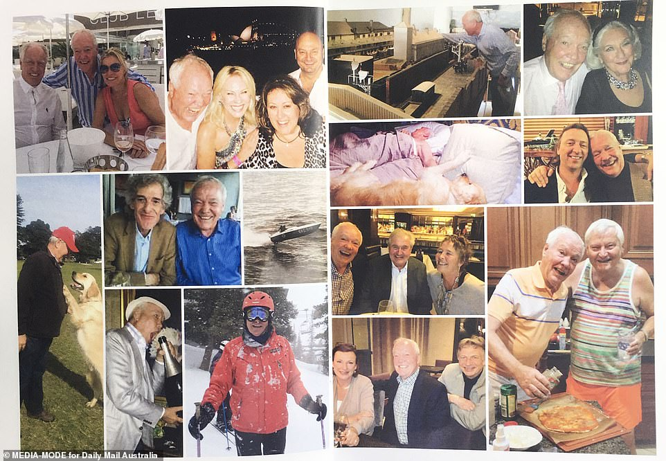 More happy memories for the Kennerley clan. John was adventurous, driving power boats in competition and rally cars, his late friend Mike Willesee said