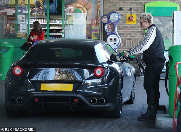 Howlett seemed preoccupied and pensive as he filled up his car, according to witnesses