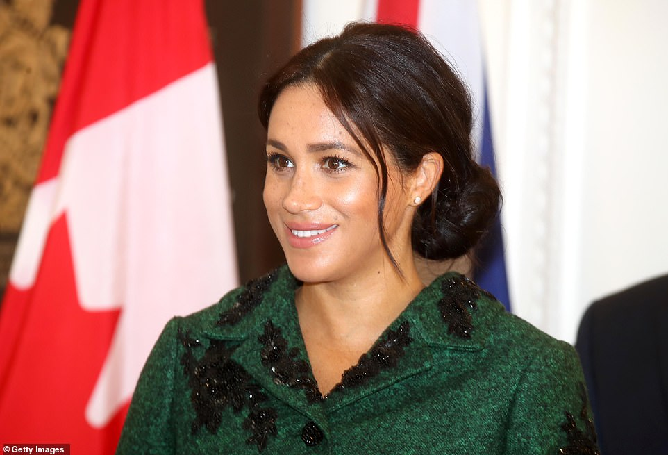 Glowing Meghan sported a natural, dewy makeup look at Canada House this morning.Later, she and Harry will join the Queen along with other senior members of the royal family and leading figures from national life to attend the Commonwealth Day service at Westminster Abbey