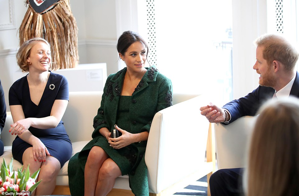 Harry and Meghanattend a Commonwealth Day Youth Event at Canada House, where they speak with young Canadians from a wide range of sectors including fashion, the arts, business and academia on Monday morning