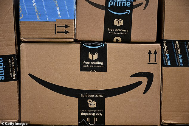 This isn't the first time Amazon (file image) has made headlines for its 'hellish' working conditions. Last April, at least 100 Amazon workers in the UK said in a survey that they suffered from depression, and eight of those individuals said they'd thought about killing themselves