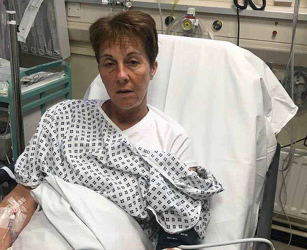 Tracy Marlor ended up in hospital diagnosed with salmonella after her stay at a luxury resort in Turkey
