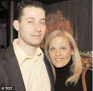Rod Covlin, pictured with murdered wife Shele Danishefsky, boasted he could kill someone 'and no one would ever find out