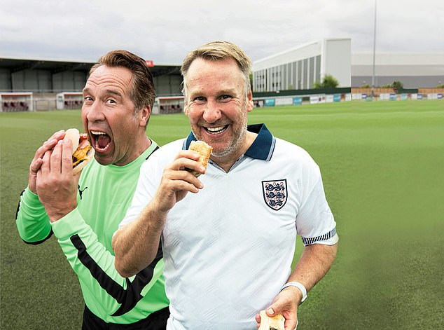 David Seaman (left) and Paul Merson (right) both appear on the new ITV show