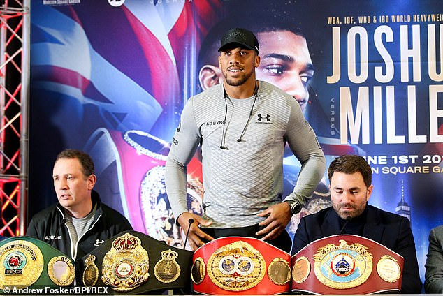 Wilder is eyeing a fight with Anthony Joshua for the undisputed world heavyweight title