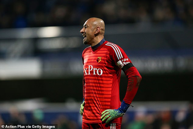 Veteran goalkeeper Heurelho Gomes will hope to start for the Hornets on Saturday afternoon