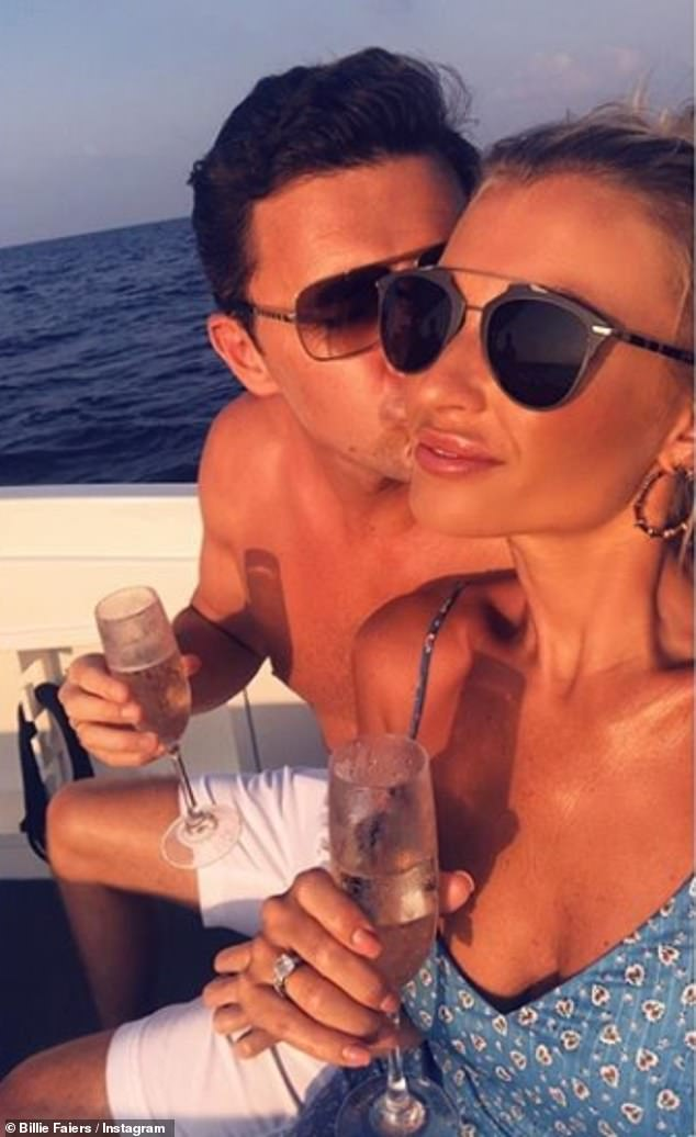Loved up:Billie and Greg idyllic nuptials have been sending fans wild over the past week, with devoted followers keen to know the ins and outs
