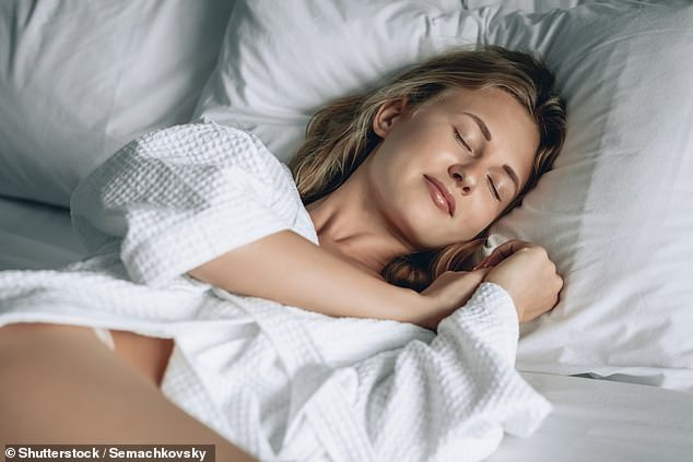 'Vivid dreams are typically derived from stress - which could be subconscious,' Olivia said (stock image)