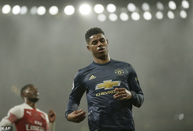 Marcus Rashford is currently in talks with United over signing a new deal at the club