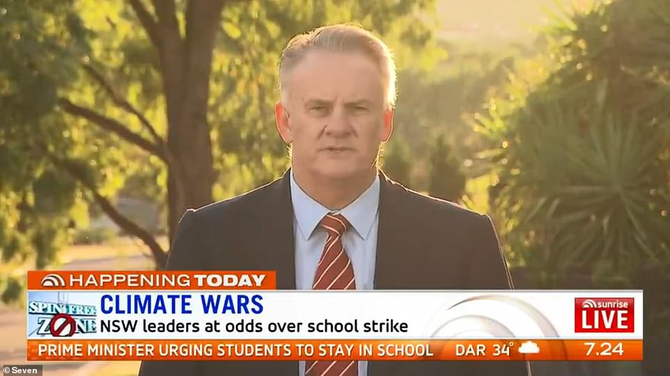 Mark Latham (pictured) - One Nation's New South Wales leader - told Daily Mail Australia young people skipping class on Friday for the School Strike 4 Climate march are limiting their career pursuits
