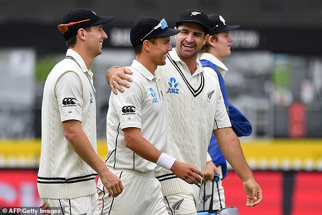 New Zealand had won the second Test between the two teams in Wellington earlier in the week