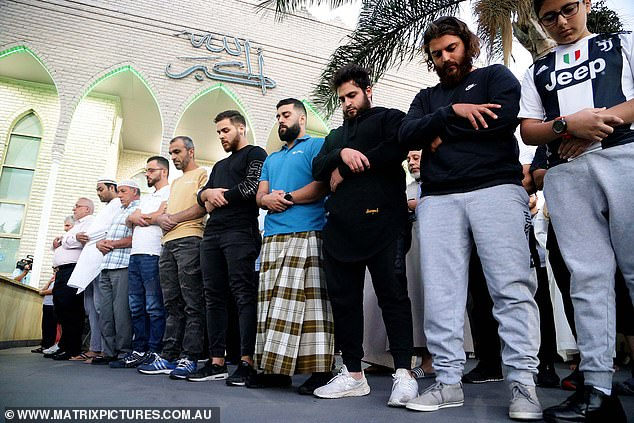 A speaker at Lakemba mosque during the evening prayers said those who attended Friday prayers in Christchurch were 'the most innocent people'