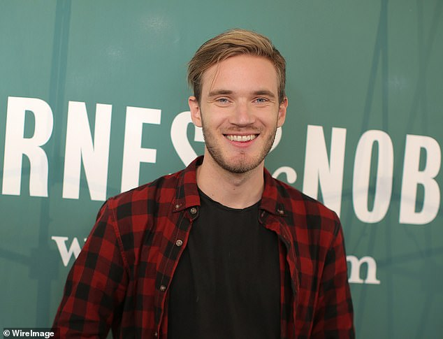 PewDiePie (above) expressed sympathy for the victims and disavowed the attacker, who shouted 'subscribe to PewDiePie' before storming a mosque and opening fire