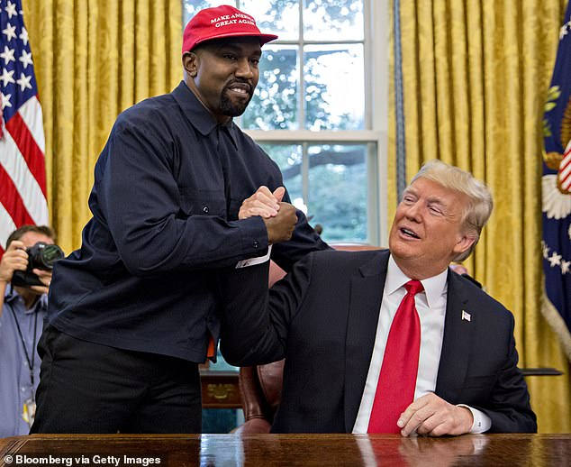 Owens is an outspoken supporter of President Trump and has formed an alliance with the equally outspoken Kanye West