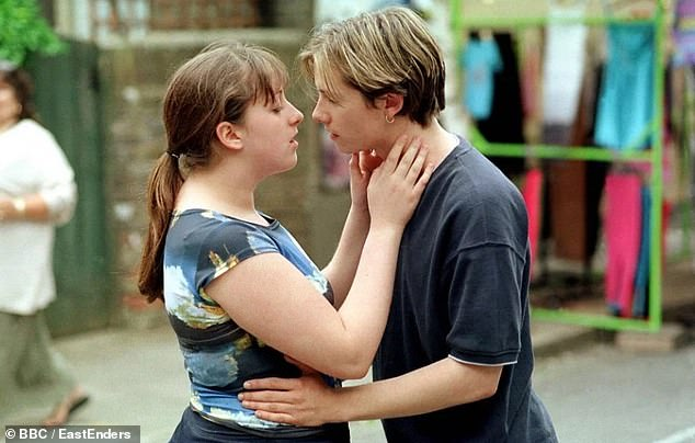Close: During his time on EastEnders, Jamie had an iconic romance with Sonia Fowler - played by Natalie Cassidy