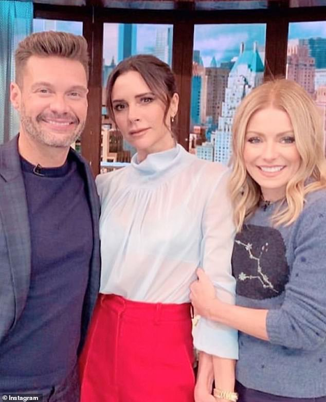 Daytime host: Ripa currently hosts Live With Ryan and Kelly alongside her co-host Ryan Seacrest and she recently guest-starred on The CW's Riverdale
