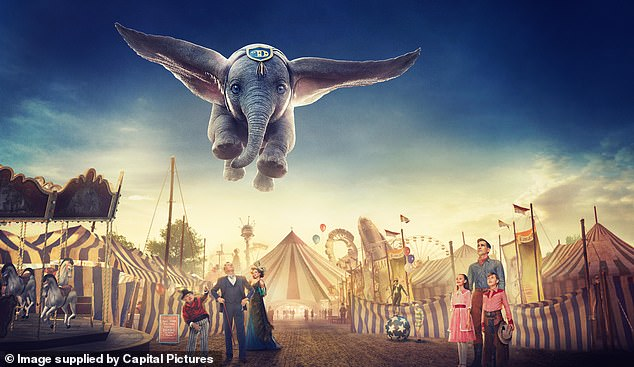 Thelive-action remake of Disney's Dumbo, which starsColin Farrell, Michael Keaton, Danny DeVito, Eva Green, Nico Parker and Finley Hobbin, is set for release on March 29