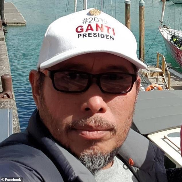 A Facebook appeal was issued for missing man Lilik Abdul Hamid (pictured)