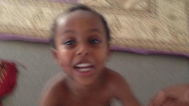 Abdi said he ran from the mosque as fast as he could and thought his young brother (pictured) would be at the hospital