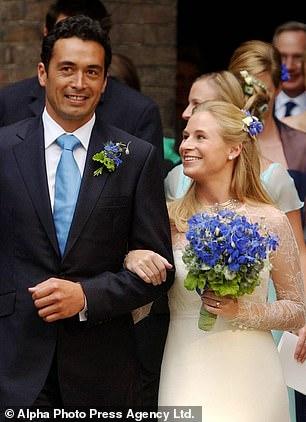 El matrimonio de Gary y Lady Davina ha golpeado las rocas después de 14 años.