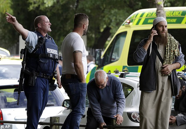 Tarrant allegedly stormed a mosque in Christchurch, opening fire with a semi-automatic shotgun and a rifle on about 100 defenseless people attending Friday prayers - live streaming the attack on Facebook