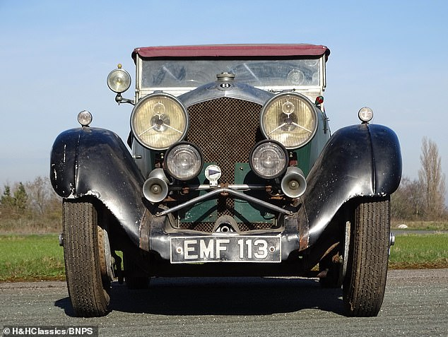 Auctioneers H&H Classics of Cheshire have described the four-seater car as 'unique'