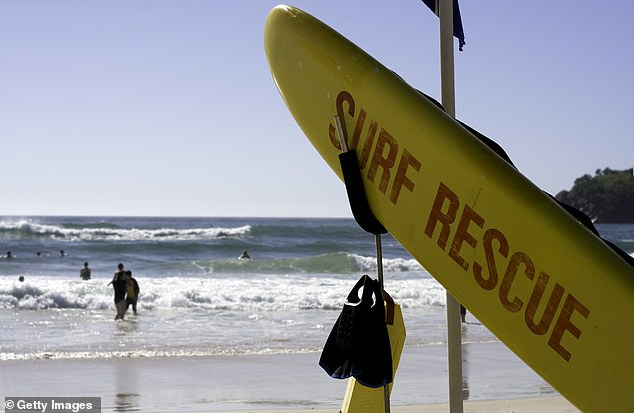 Surf Life Saving Queensland faces a sex tape scandal after the lascivious video that presumably presents members of the minors' club becomes viral (stock image)