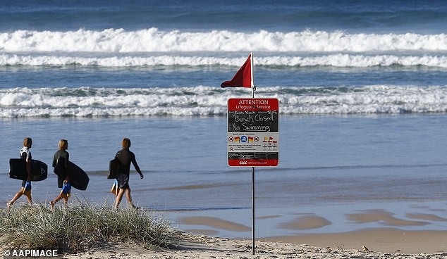 According to Surf Life Saving Queensland Policy club members and volunteers are not allowed to share content online that could be deemed obscene or offensive