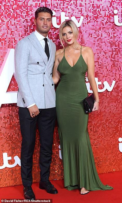 Mike Thalassitis y Danielle Sellers La gala de ITV
