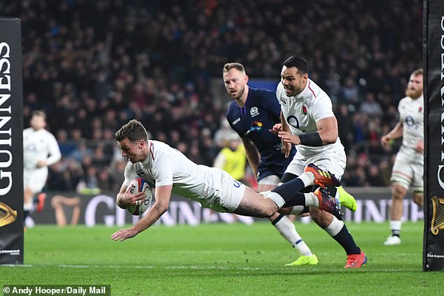 England levelled the match right at the death as George Ford went under the posts