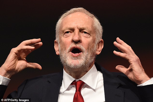 A Labour source defended Mr Corbyn's actions, saying: 'It is absurd to confuse basic politeness with a lack of resolve to tackle anti-Semitism'