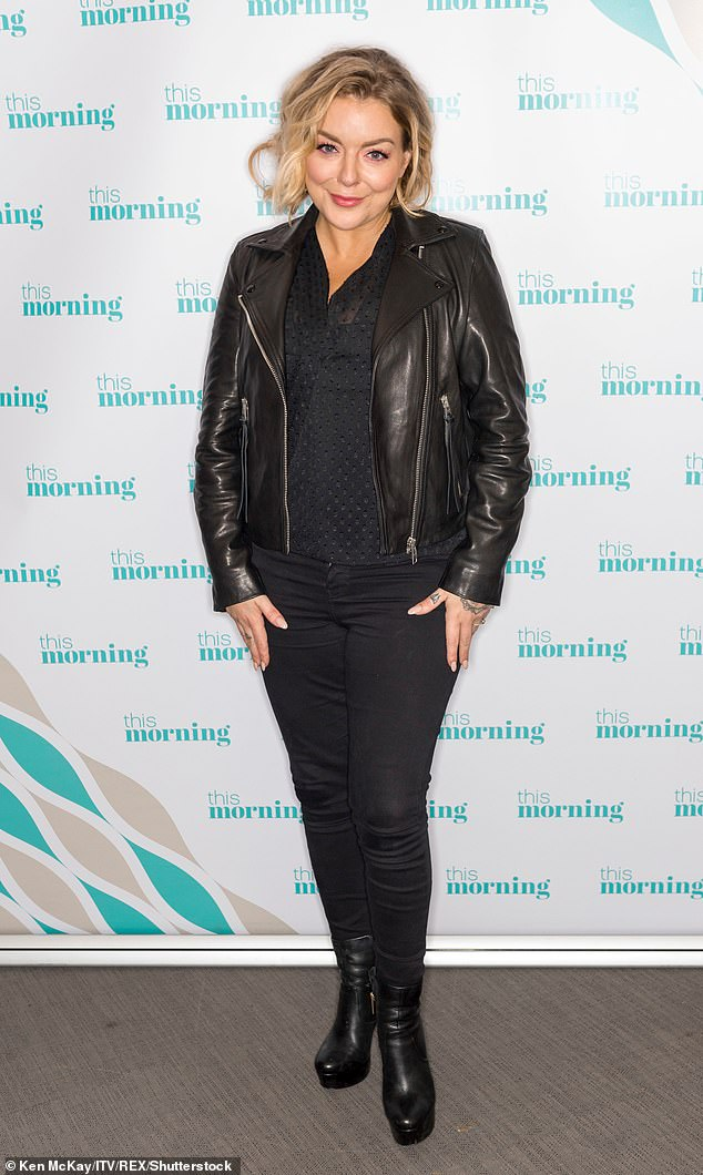 Speaking out: Sheridan Smith has said Mike Thalassitis' death should be a 'massive wake-up call' and has called for change (pictured in January 2019)