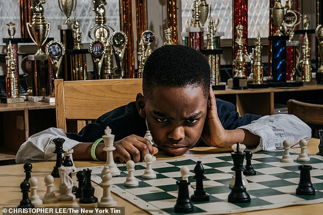 Tani only started playing chess in 2017 after his family fled Nigeria to live in the US