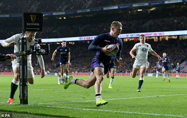 The emergence of Darcy Graham has added to Scotland's artillery