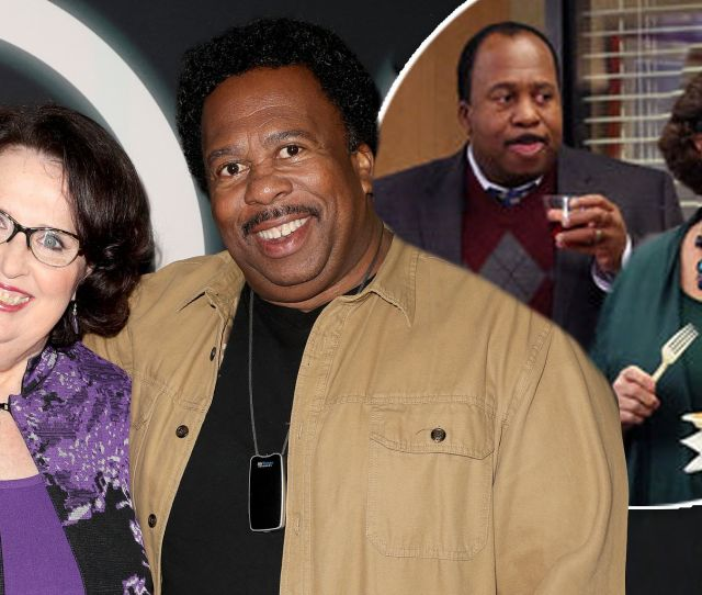The Office Stars Phyllis Smith And Leslie David Baker Reunite On Red Carpet At Netflix Premiere Daily Mail Online