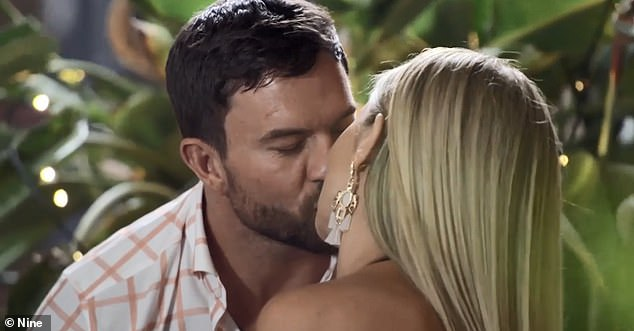 Plot! During Wednesday's episode, Dan revealed his plan to ask the relationship experts if they could continue on the show together.Pictured on Married on First Sight