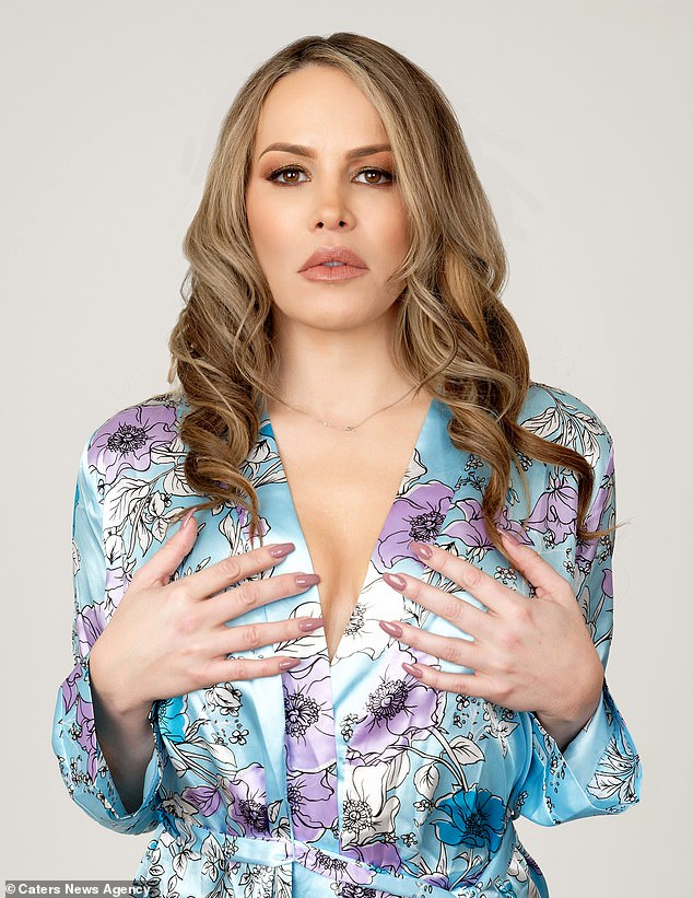 Bobbi Billard, 43, is a glamour model and former professional wrestler. She had nine operations in a bid to keep her larger breasts but she struggled for years with complications
