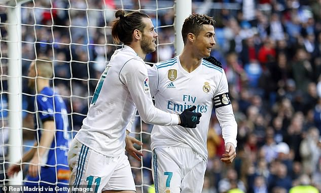 Fans were expecting Bale to step up after Cristiano Ronaldo's exit and become the main man