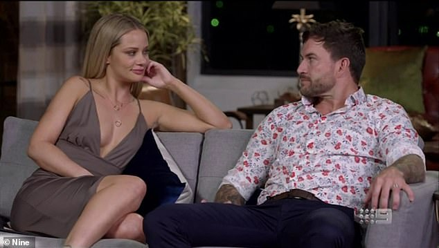 Shock move:Jessika Power (left) and Dan Webb (right) were sensationally allowed to re-enter Married At First Sight as a new couple in Sunday night's episode