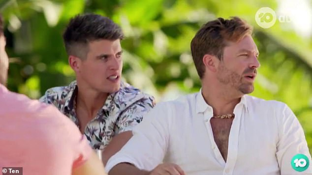 Hello, boys! Cassandra also catches the eye of financial adviser James Trethewie, from Sophie Monk's season of The Bachelorette
