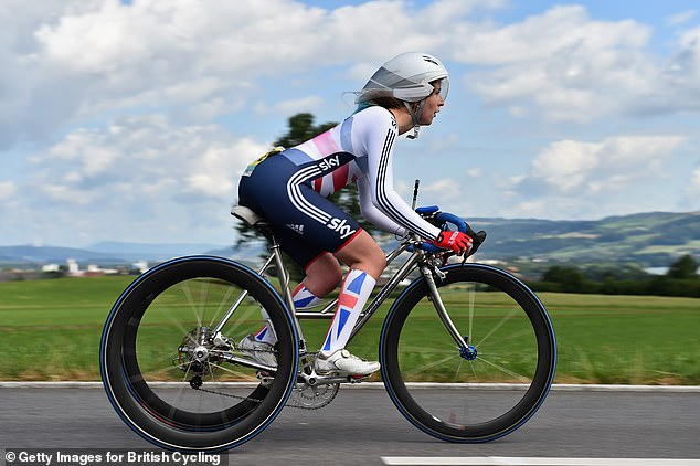 Ms Dines, who was born with cerebral palsy, is a Para-cyclist who has represented Team GB and came fourth in the world championships in 2015