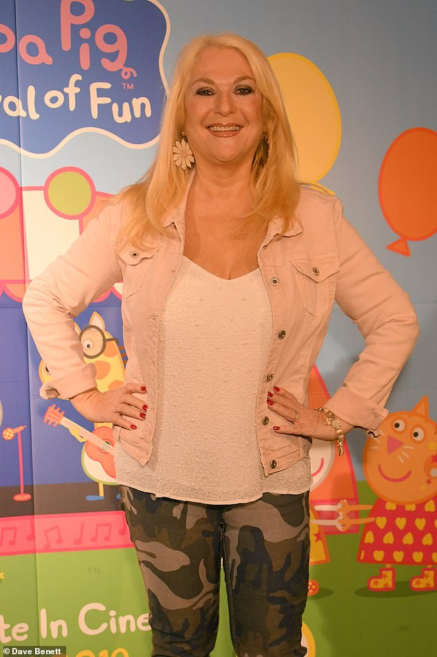 New look: The 57-year-old presenter had a gastric band fitted in 2010, but has since admitted to struggling with the procedure