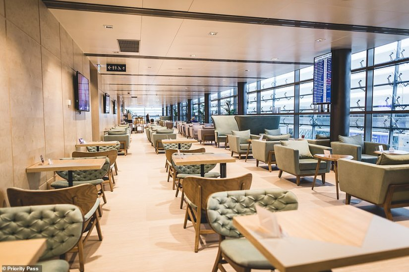The best lounge in Europe has been named as thePrimeclass Business Lounge at Riga International Airport, pictured